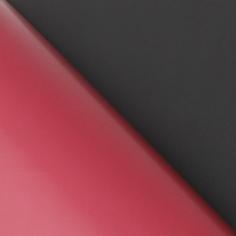 Пленка матовая двухсторонняя Чёрная / Бордовая