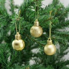 Новогодние шары Золотые