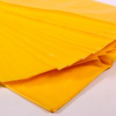 Бумага упаковочная тишью Желтая / листы