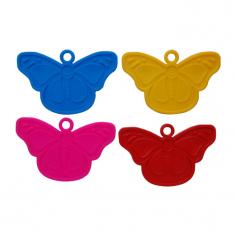Грузики Бабочки, Ассорти 4 цвета