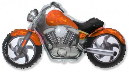 Шар Мини-фигура Байк, Оранжевый / CUSTOM MOTO (в упаковке)
