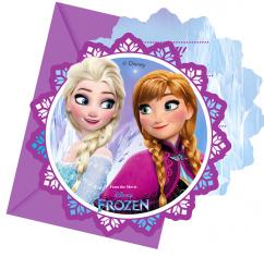 Приглашения Холодное Сердце. Северное сияние /Frozen Northern Lights