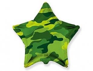 Шар Звезда Камуфляж / Military (в упаковке)