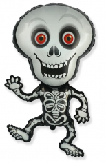 Шар Фигура, Танцующий скелет, Серый