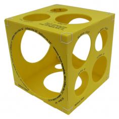 Калибратор кубический Желтый на 3