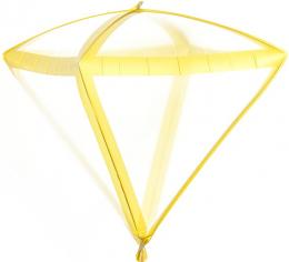 Шар 3D Алмаз Золотые грани, Прозрачный (в упаковке)