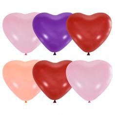 Сердце 4 цвета Ассорти, Декоратор / Assorted