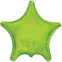 Шар Звезда, Остроконечная, Зелёная (в упаковке)