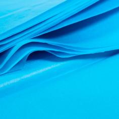 Бумага упаковочная тишью Голубая / листы