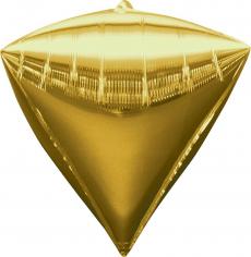Шар 3D Алмаз Золото / Diamondz Gold (в упаковке)