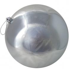 Новогодние шары Серебряные (блестящие)