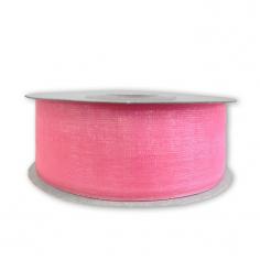 Лента Органза Розовый