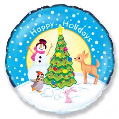 Шар Круг, Счастливого Рождества
