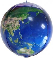 Шар Сфера 3D, Планета Земля (в упаковке)