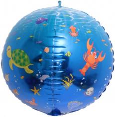 Шар Сфера 3D, Подводный мир (в упаковке)