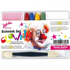 Набор грим-карандашей и красок