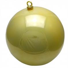 Новогодний шар Золотой (перламутровый)