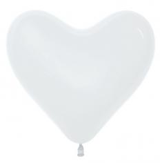 Сердце Белый, Пастель / White 005