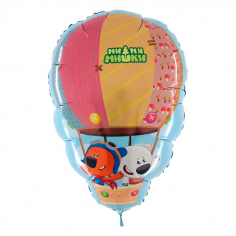 Шар Фигура, Ми-ми-мишки на воздушном шаре / Mi-mi-mishki on the air balloon (в упаковке)