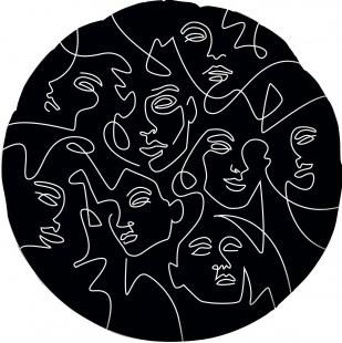 Шар Круг  Инверсия, Абстрактный образ (в упаковке)