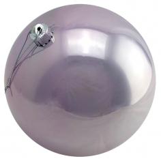 Новогодние шары Лиловые (перламутровые)