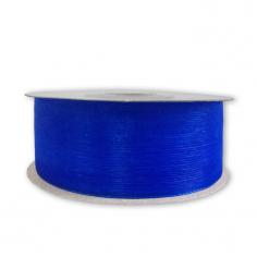 Лента Органза Синий