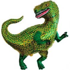Шар Мини-фигура Тираннозавр (в упаковке)