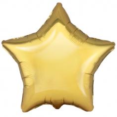 Шар Звезда, Античное Золото / Antique Gold (в упаковке)