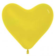 Сердце Жёлтый, Пастель / Yellow