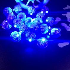 Светодиод мини для подсветки шара Синий