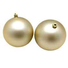 Новогодние шары Пудровые (матовые)