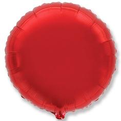 Шар Круг, Красный / Red (в упаковке)