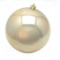 Новогодние шары Пудровые (перламутровые)