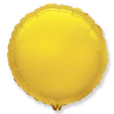 Шар Круг, Золото / Gold (в упаковке)