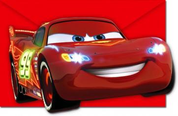 Приглашения Тачки. Неоновый город / Cars Neon