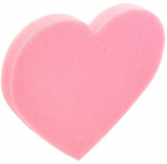Сердце (поролон), Неон, Розовое
