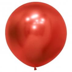 Шар Рефлекс Красный, (Зеркальные шары) / Reflex Red