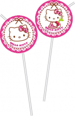 Трубочки Хэллоу - Китти / Hello Kitty Hearts