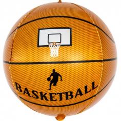Шар Сфера 3D, Баскетбольный мяч, Коричневый (в упаковке)