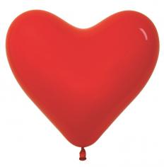 Сердце Красный, Пастель / Red 015