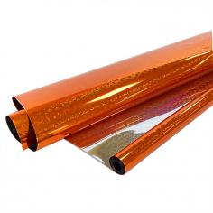 Пленка Голография Оранжевая, 200гр