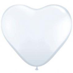 Сердце, Белый Пастель / White