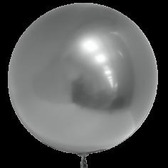 Шар Сфера 3D, Deco Bubble, Серебро, Хром (в упаковке)