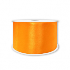 Лента Атлас Оранжевый