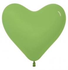 Сердце Светло-зелёный, Пастель / Key Lime