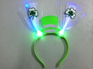Ободок-антеннки «Св. Патрик» с подсветкой