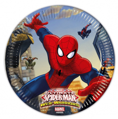 Тарелки Человек - Паук / Ultimate Spiderman Web Warriors