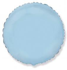 Шар Круг, Светло-Голубой / Blue baby (в упаковке)