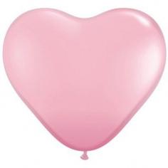 Сердце, Розовый Пастель / Pink