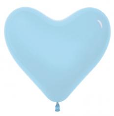 Сердце Светло-голубой, Пастель / Blue